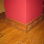 Skirting Board and Wooden Flooring